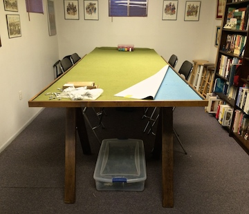 Wargame table design blog page for Table design rules